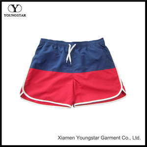 Beach Shorts Red White And Blue Boardshorts Womens Swim Trunks